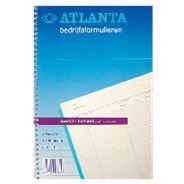 Atlanta Kasboek doorschrijf 50 x 2 vel
