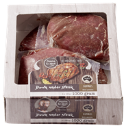 Runder Down under steak diepvries 4 x 250 gram