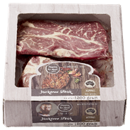 Runder Jackeroo steak diepvries 4 x 300 gram