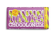 Tony's Chocolonely Chocolade Exclusive Melk coffee crunch 180 GRM verpakt, wikkel