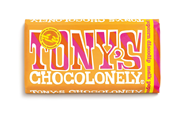 Tony's Chocolonely Chocolade Exclusive Melk popcorn discodip 175 GRM verpakt, wikkel