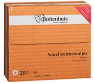 Buitenhuis Saucijzenbroodjes 12 x 75 gram