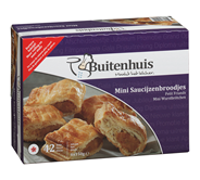 Buitenhuis Mini saucijzenbroodjes 42 x 21,5 gram