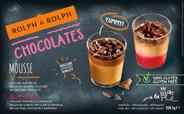 Desserts glaasjes glutenvrij, Belgische chocolade, Chocolade framboos