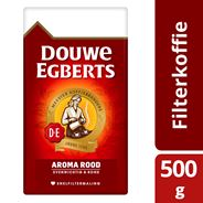 Douwe Egberts Aroma Rood Koffie Snelfilter Maling 500g