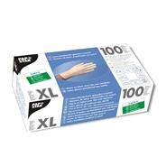 Papstar latex handschoenen gepoederd wit XL 100 stuks