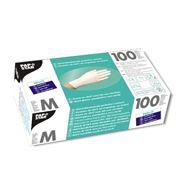 Papstar nitril handschoenen poedervrij wit M 100 stuks