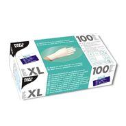 Papstar nitril handschoenen poedervrij wit XL 100 stuks