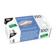 Papstar latex handschoenen gepoederd wit S 100 stuks