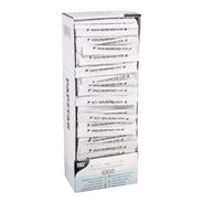 Plastic Tandenstokers individueel verpakt 4,9 cm 1000 stuks