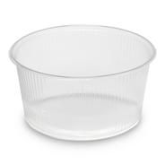 Horeca Select Plastic verpakkingsbekers rond 250 ml 100 stuks