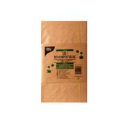 Papstar Compostzakken papier 120 liter bruin 3 stuks