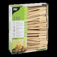 Papstar Fingerfood Spiesjes Bamboe 12 cm 6 x 250 stuks