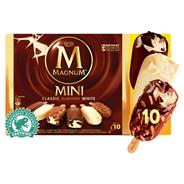 Ola Magnum IJs Mini classic almond white 10 stuks