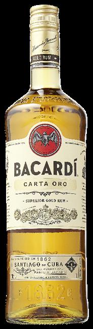 Bacardi Carta oro 12 x 1 liter