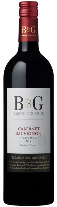 Barton & Guestier Cabernet sauvignon 750 ml