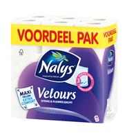 Nalys Velours maxi 3-laags toiletpapier 18 rollen