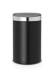 Brabantia Touch bin new afvalemmer 40 liter matt black