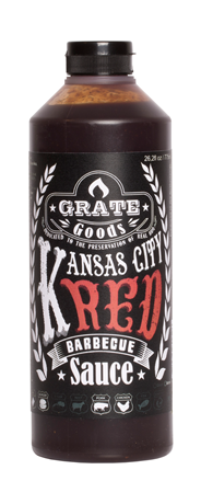 Grate Goods Kansas City Red BBQ sauce 775 ml