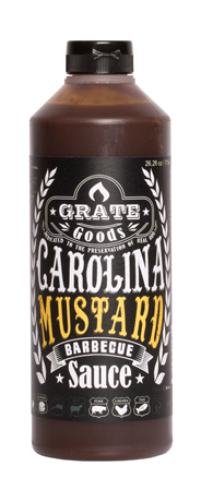 Grate Goods Carolina mustard BBQ sauce 775 ml