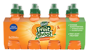 Teisseire Fruit Shoot Sinaasappel 24 x 200 ml