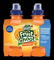 Teisseire Fruit Shoot Sinaasappel 0% 24 x 200 ml
