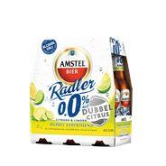 Amstel Radler dubbel citrus 0.0% fles 4 x 6 x 300 ml