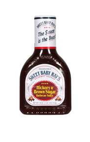 Sweet Baby Rays Hickory & brown sugar BBQ sauce 532 ml