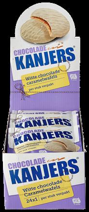 Kanjers Chocolade Kanjers wit 24 stuks