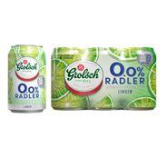 Grolsch Radler Limoen 0.0% Blik 4x6x33cl