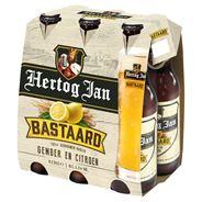 Hertog Jan Bastaard gember en citroen fles 4 x 6 x 300 ml