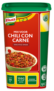 Knorr 1-2-3 Mix voor chili con carne 1,2 kg