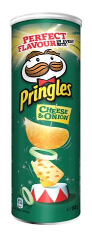 Pringles Cheese & onion 165 gram