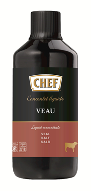 Chef Liquid concentrate Kalf 1 liter