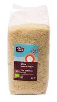 Ekoland Witte basmatirijst 1 kg