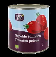 Ekoland Gepelde tomaten 2,5 kg