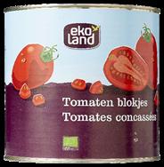 Ekoland Tomaten blokjes 2,5 kg