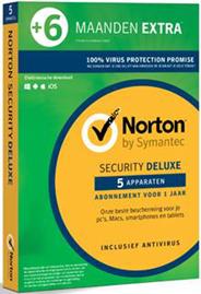 Symantec Norton Security deluxe 3.0 5 apparaten