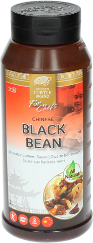 Golden Turtle Chef Chinese zwarte bonensaus 1 liter