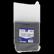 Horeca Select Bak/Deksel zwart 1 liter 25 stuks
