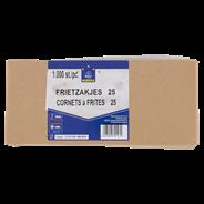 Horeca Select Frietzak met tip 25 50 stuks
