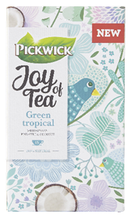 Pickwick Joy of Tea Green Tropical 15 zakjes