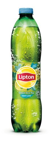 Lipton Ice Tea Green mint lime PET 6 x 1,5 liter
