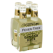 FEVER TREE GINGER BEER 4X0.2L