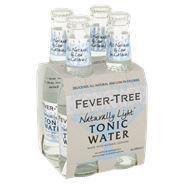 Fever-Tree Naturally Light Tonic Water 6 x 4 x 200 ml