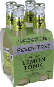 Fever tree lemon tonic 4x0.2l