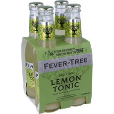 Fever tree lemon tonic 4x0.2l