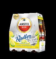 Amstel Radler Bier Dubbel Citrus Fles 6 x 30 cl