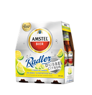 Amstel Radler dubbel citrus fles 4 x 6 x 300 ml