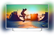 "Philips 49PUS6412/12 6000 series 49"" Ultraslanke 4K-TV - A"